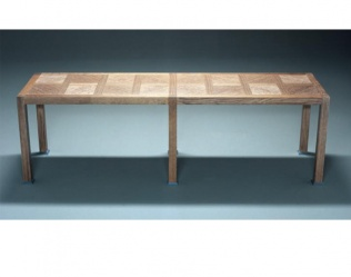 TABLE BASSE DAMIER