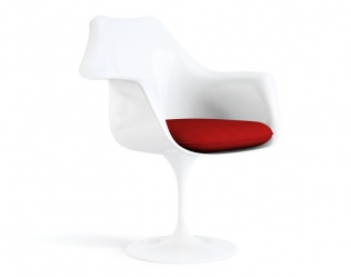 TULIP CHAIR AND ARMCHAIR