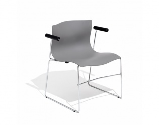 VIGNELLI ARMCHAIR AND CHAIR