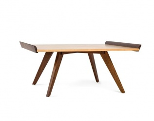 SPLAY-LEG TABLE AND TRAY