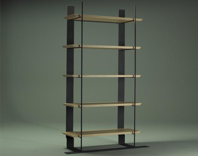 etagere et bois gotham. Black Bedroom Furniture Sets. Home Design Ideas