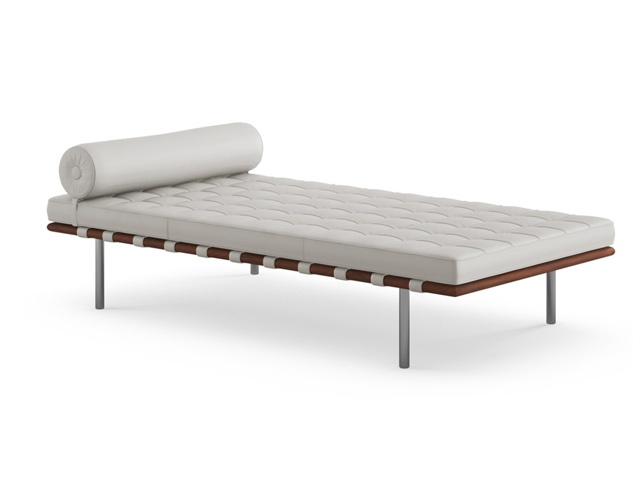Barcelona day bed gotham for Barcelona chaise lounge